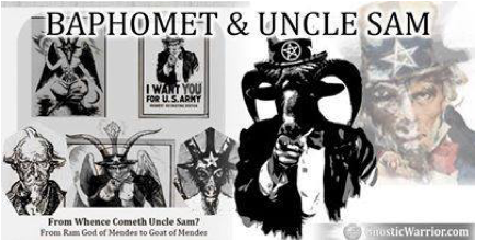baphomet uncle sam