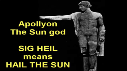 Apollyon hail the sun