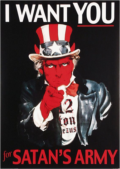 uncle sam satans army
