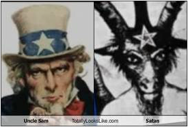 uncle sam satan