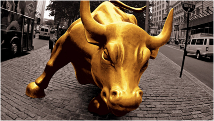 moloch golden bull wall street