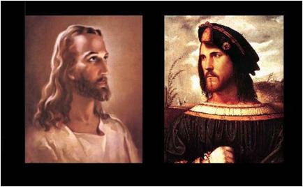 cesare borgia white jesus