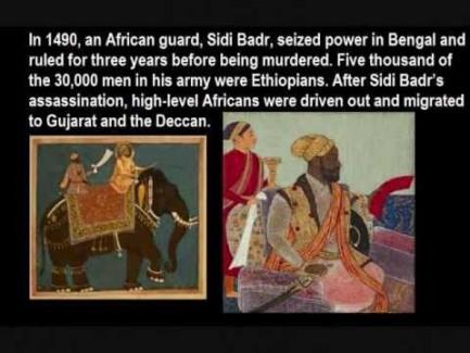 sidi badr east african zanji india gujarat