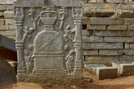 113 Sannati Kanaganahalli Buddhist Stupa Sculptures