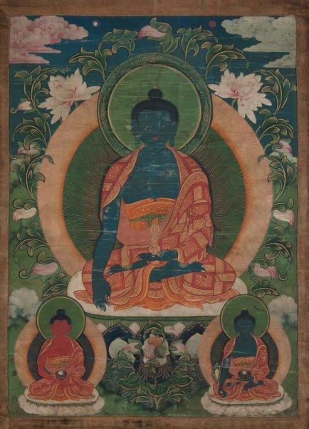 black buddha triad