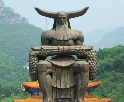 shennong statue