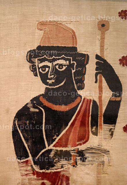 3 magi coptic textile