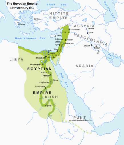 egypt and canaan