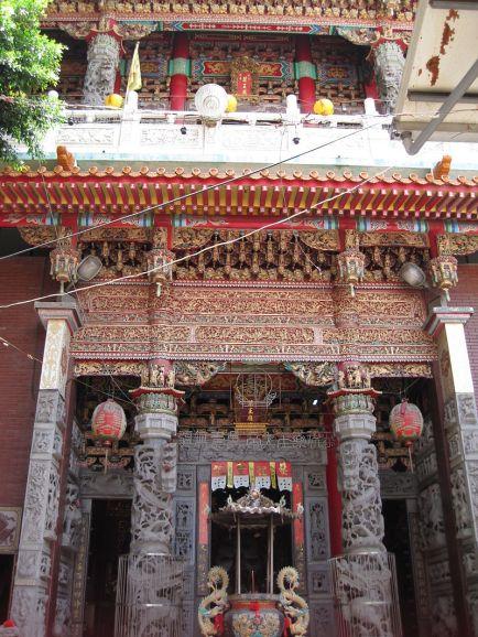 臺南藥王廟正面 shennong temple