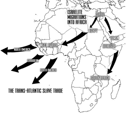 israelite migrations into africa