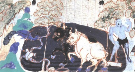 Culitivating the land of Northern Zhou Dynasty from Mogao cave 296