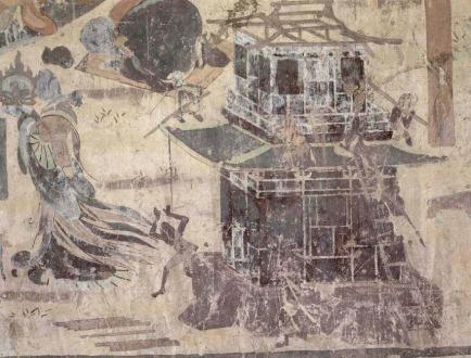 black buddhists mason monks temple pagoda builders