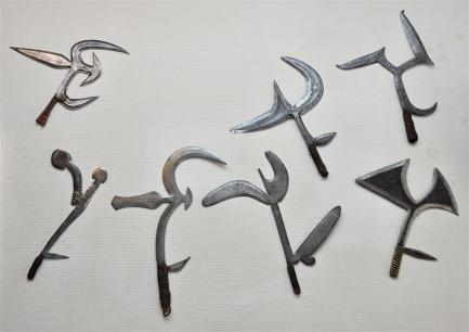 african throwing knives