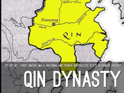 qin dynasty map minim h5515