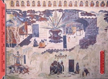 emperor wendi of sui dynasty receiving dharma master tanyan