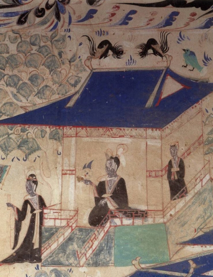 halls of Western Wei · holy life products like Nirvana Sutra Cave 285 Mogao south wall 65.殿堂 西魏 大般涅槃经·梵行品 莫高窟285窟 南壁