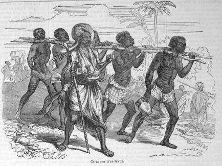 arab slave caravan