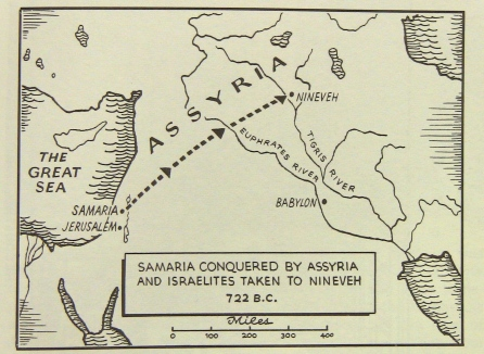 Northern Kingdom Israel to Assyria
