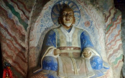 lao jun buddha cave
