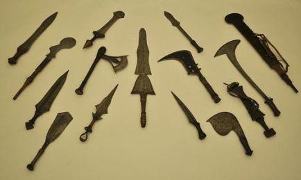 Mangbetu knives