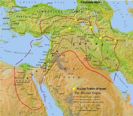 Map - Assyrian