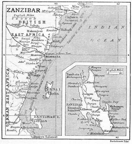 map of zanzibar