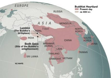 buddha born in shakya territory nepal