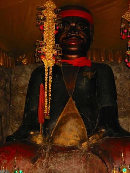Phnom Penh, Cambodia negro buddha