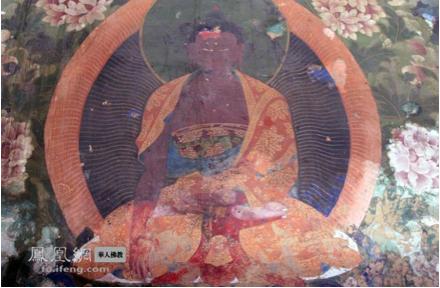 Black Buddha Lotus position 1