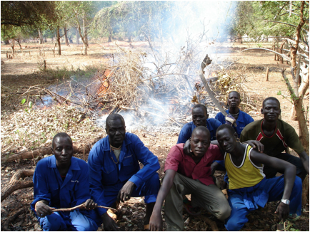 slash and burn yan fire masters from african