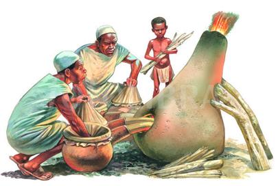 african iron furnace 1