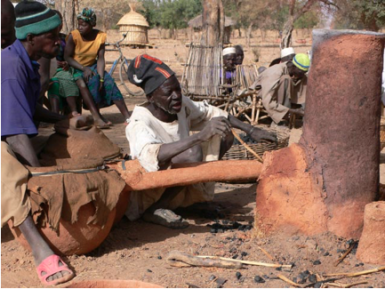 african iron furnace 3