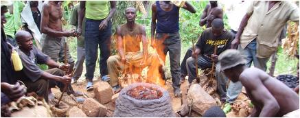 african iron furnace 6