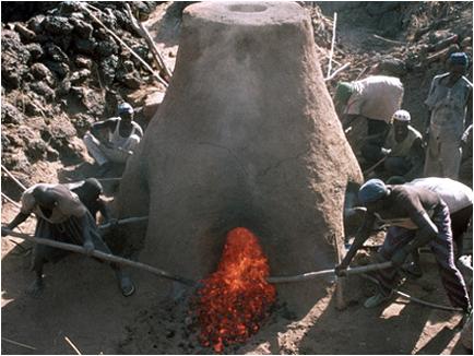 african iron furnace