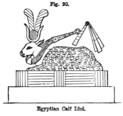 gold calf idol egypt