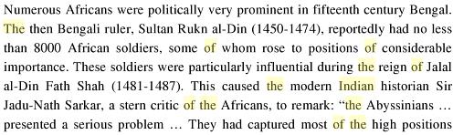 An African Indian Community in Hyderabad: Siddi Identity, Its Maintenance and Change, By Ababu Minda Yimene, PG 81