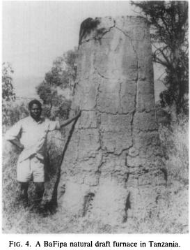 Tanzania iron furnace