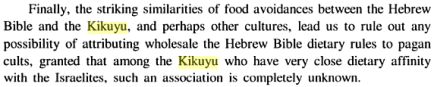 Leviticus: The Priestly Laws and Prohibitions from the Perspective of Ancient Near East and Africa, By Johnson M. Kimuhu, PG 362-363