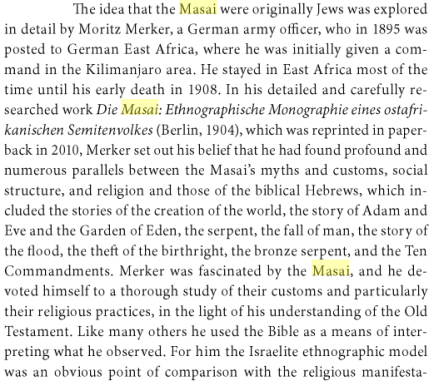 Black Jews in Africa and the Americas, By Tudor Parfitt, PG 56