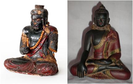 black buddha 1