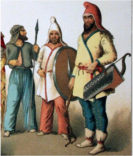Scythians Israelites 1