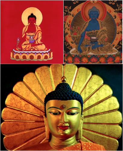 black buddha sun worship