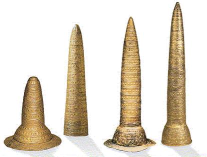 Golden Berlin Hat