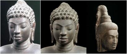 black buddha hair