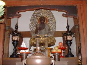 negro buddha