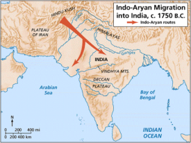 indo aryan migration into india