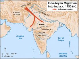 indo aryan migration into india