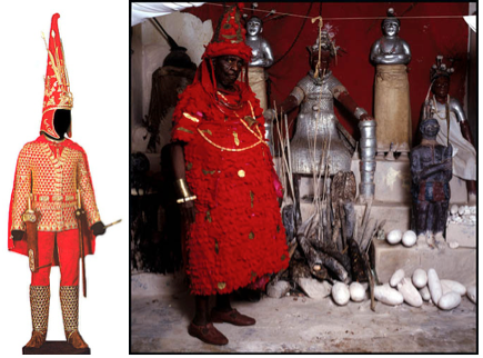LFT: Royal Scythian, RT: Oba Chief of Nigeria