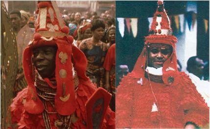 Oba of Nigeria Scythians