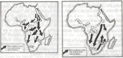 bantu expansion map